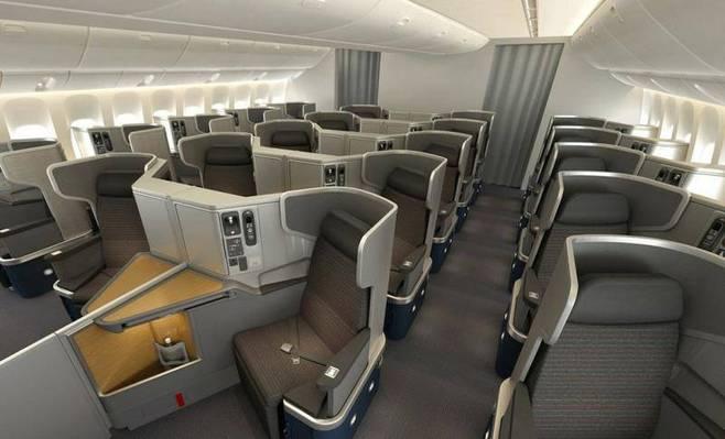 American Airlines презентовали спальные кресла для бизнес-класса