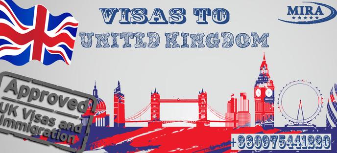 Виза в Великобританию для украинцев 2018