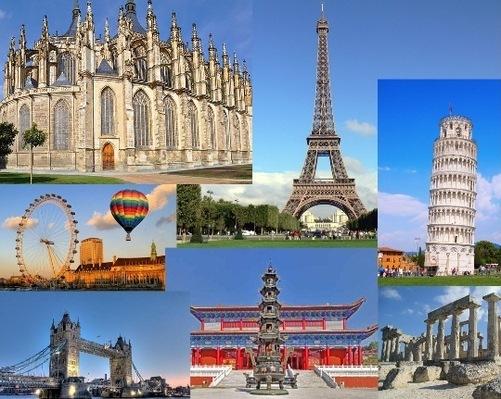 Путешествие в страны Европы